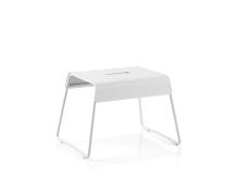 Zone A-Stool Skammel 39 x 30 x 27,5 cm White