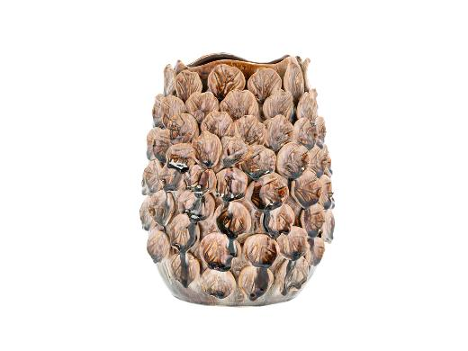 Villa Collection Vase Dia. 25 x 29,5 cm Major Brown