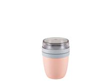 Mepal Ellipse Frokostbæger mini 300+120 ml Nordic pink