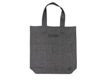 Södahl organic Chambray Shopper 42 x 43 x 10 cm Black