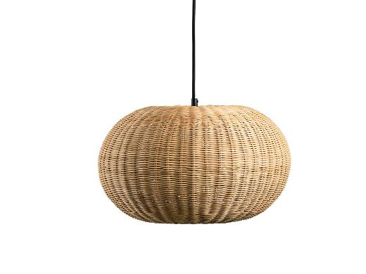 Villa Collection Lampe Dia. 40,5 x 25 cm Natur