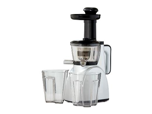 Funktion Slowjuicer 150 watt sort/sølv