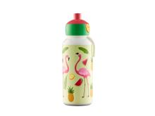 Mepal Pop-up Tropical Flamingo Drikkeflaske 400 ml