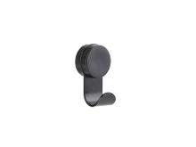 Zone Puck Hook single Krog 5,8 x 14 cm Black