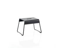 Zone A-Stool Skammel 39 x 30 x 27,5 cm Black