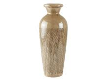 Villa Collection Vase Dia. 18 x 46 cm sandfarvet