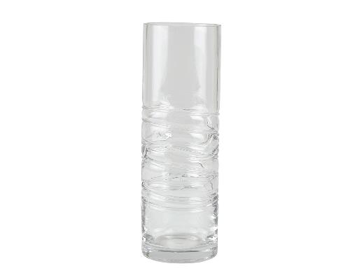 Villa Collection Vase Dia. 10 x 30 cm Klar