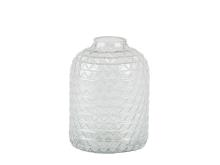 Villa Collection Vase Dia. 5 x 17 cm Klar