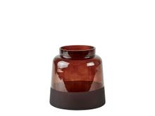 Villa Collection Vase Dia. 15 x 15 cm brun