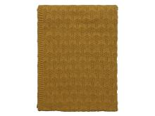 Södahl Deco knit Plaid 130 x 170 cm Golden sand