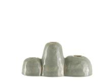 A Simple Mess Udine Vase 8,5 x 22 x 10 cm Gray mist
