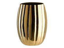 A Simple Mess Venosa Vase Dia. 11,5 x 16 cm Gold